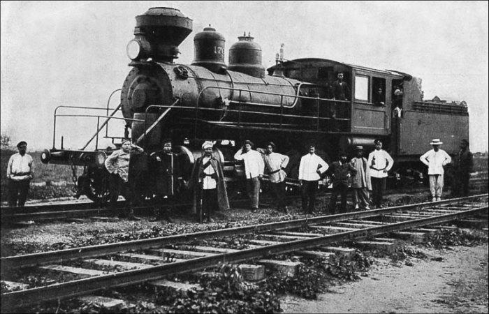 Российские железнодорожники в Маньчжурии. | Фото: lib.rus.ec.