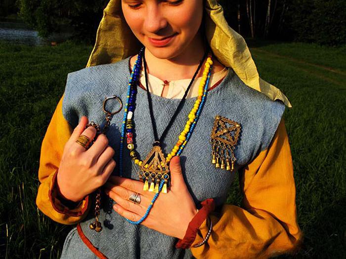 Реконструкция костюма народа меря./Фото: merjamaa.ru